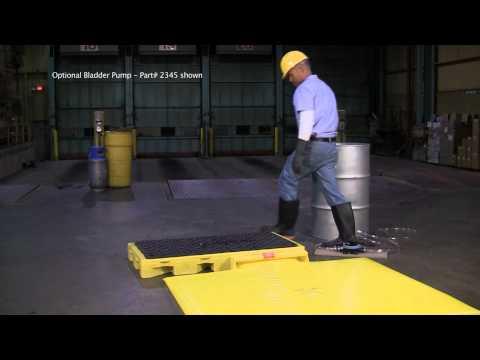 Spill Deck Bladder Systems - UltraTech International, Inc. 904-288-8195