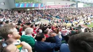 Japan vs South Africa RWC 2015 last try