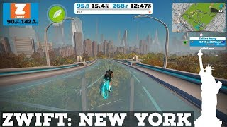 New Zwift Course: New York // Route Details // First Look