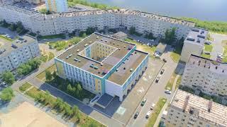 Школа №6 г.Надым. Летний день 11.07.2021г. 4K UHD