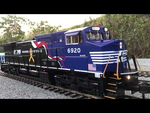 modelismo-ferroviario-chile:-garden-railway-layout-tour---steam-locomotive-and-diesel-trains-galore