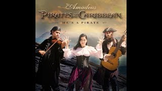 He's a Pirate (Disney's Pirates of the Caribbean Theme) Trio Amadeus harp cover - Piratas do Caribe