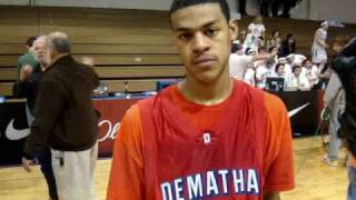 CapitolHoops.Com Basketball Interview Quinn Cook Dematha Catholic 2011 PG