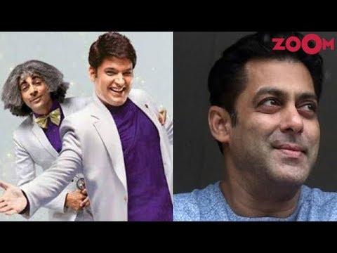 Salman Khan makes Kapil Sharma and Sunil Grover end their feud!  Bollywood