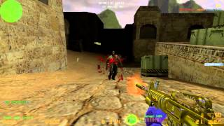 Counter Strike Extreme V6 GamePlay - Zombie Mod