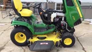 2015 John Deere X750 Series Garden Tractor