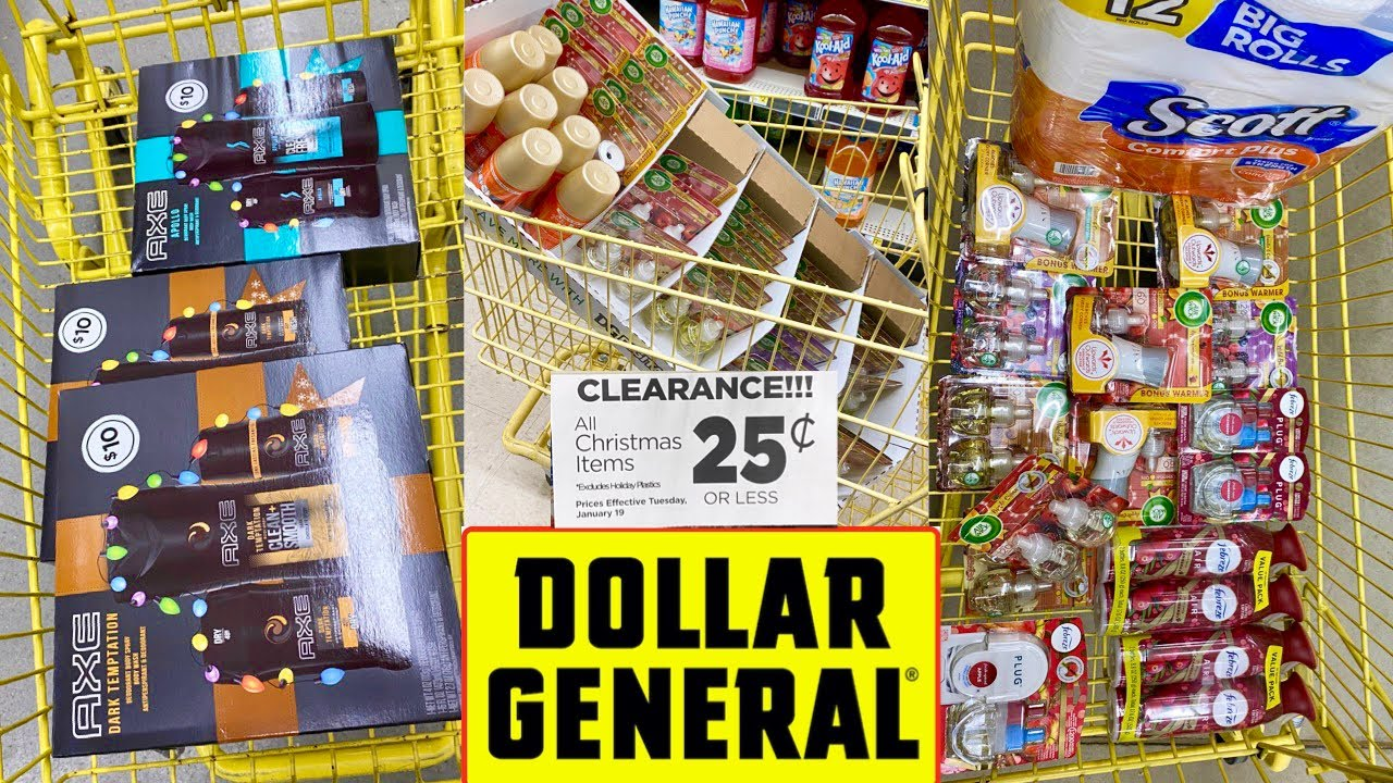 .25 Dollar General Christmas Items January 2021 Dollar General 0 25 Christmas Clearance Hidden In Plain Sight So Many Free Items W Overage Youtube