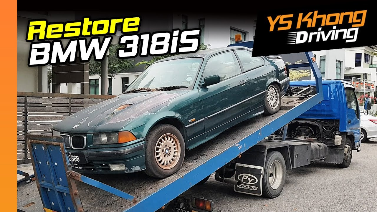 BMW 318iS, 1993,  Restoration [Pt.1] - A Labour of Love | YS Khong Driving