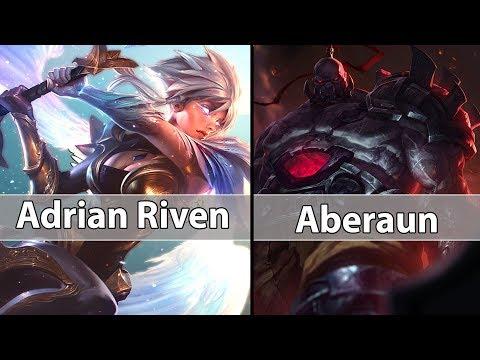 [ ADrian Riven ] Riven vs Sion [ Aberaun ] Top - Best Riven Play