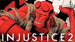 HELLBOY Novo Personagem em Injustice 2 DLC