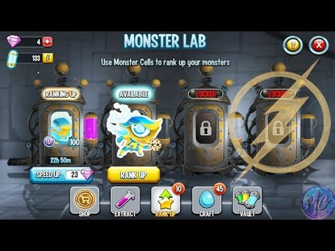 VOLTAIK RANK UP USING ELEMENTIUM ! Favorite Monster Ft.Monster Legend