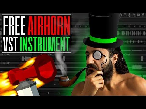 Free AIR HORN Sound VST Instrument - Rekt 😂 - Free Download - FL Studio 12 Tutorial