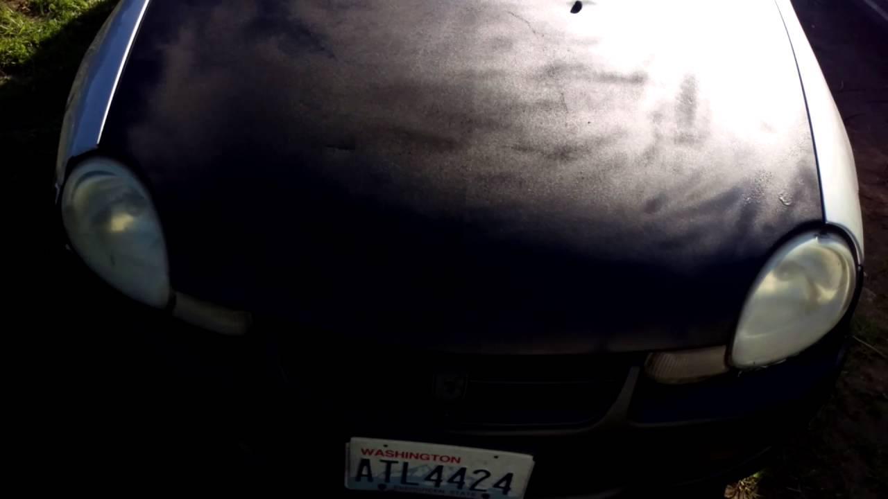 2001 Dodge Neon Lowered