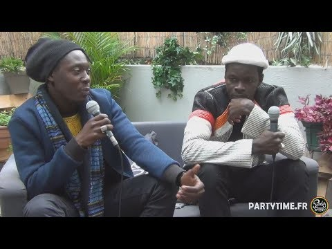 Daara J & Thomas Broussard at Party Time Reggae Radio show   21 OCT 2018