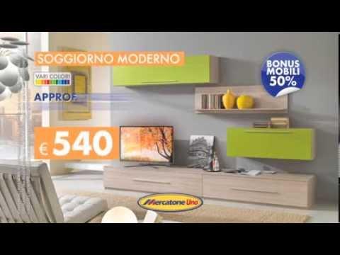 Soggiorno Moderno Giotto - YouTube