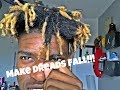 HOW TO MAKE YOUR DREADS FALL!!!