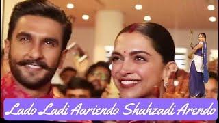 Ranveer Deepika Wedding Sindhi Lado Song , Sindhi Lada