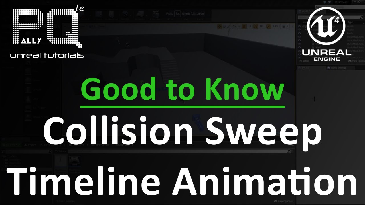Unreal engine 4 good to know collision timeline animation youtube unreal engine 4 good to know collision timeline animation malvernweather Image collections