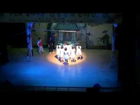 2012 Korean Traditional Fusion Dance Rehearsal