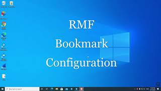RMF Demo Part 3: Bookmarks