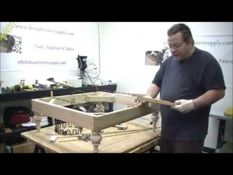 Upholstery Spring Stretcher Youtube