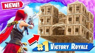 PISTOLS AND SHOTGUNS ONLY vs SKYBASE! Fortnite: Battle Royale thumbnail