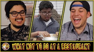 What Not To Do At A Restaurant | Jordindian Reaction and Discussion