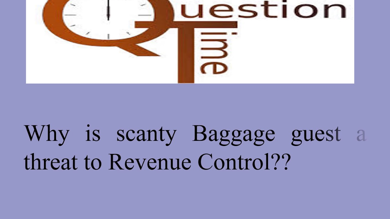 scanty baggage