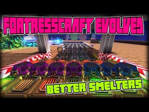 FORTRESSCRAFT EVOLVED PART 13 | Unlocking better smelter