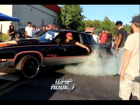 WhipAddict: Stuntworld Block Party 2K19, Atlanta GA, Custom Cars, Muscle Cars, Big Rims