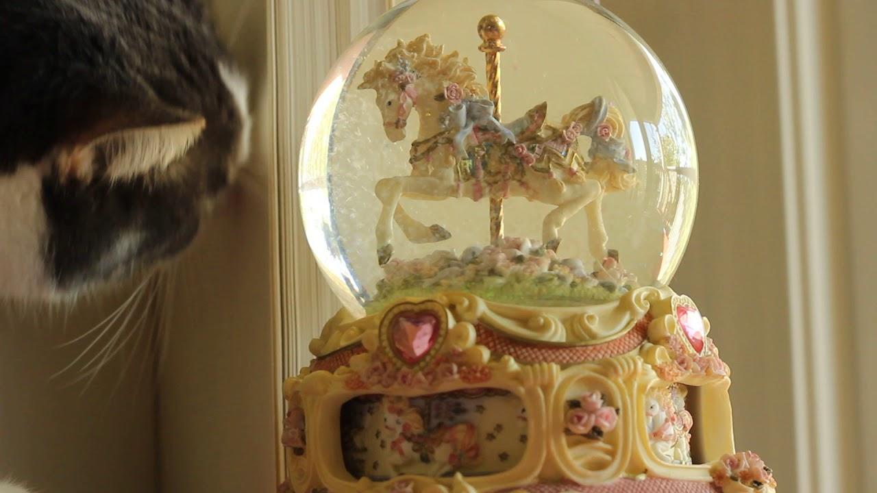 The San Francisco Music Box Company Carousel Horse Youtube
