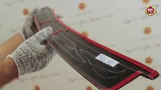 видео Установка боковой подсветки на бампер ВАЗ 2110