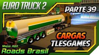 Euro Truck Simulator 2 - Mod Cargas Tlesgames Atualizado para Mapa RBR