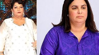 Farah Khan Upsets Saroj Khan By Poking Fun At Her - Bollywood News
