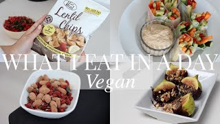 What I Eat in a Day #13 (Vegan/Plant-based) | JessBeautician