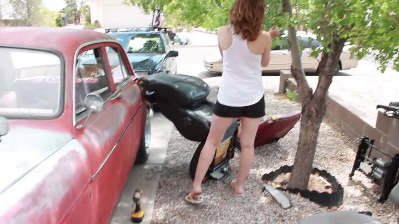 Volvo S80 seats in a Volvo Amazon- IPD Build Off Episode 7 ...