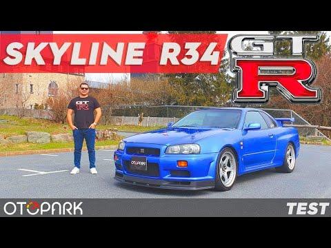 Skyline R34 GT-R   300.000 Abone Özel   Hakkıyla TEST Ettik !!