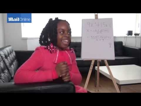 10 year old girl accepted on University course to study maths degree