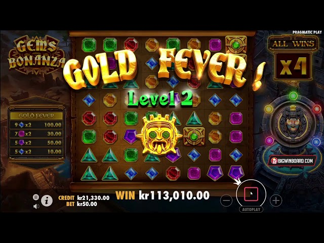 GEMS BONANZA (PRAGMATIC PLAY) ONLINE SLOT