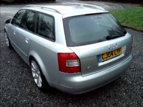 2004 audi a4 avant 1 9 tdi se youtube. Black Bedroom Furniture Sets. Home Design Ideas