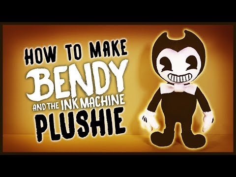 [REUPLOAD] DIY Bendy and the Ink Machine Sock Plushie! FREE PATTERN! BATIM Plush Tutorial