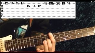 Guitar Lesson - BLACK SABBATH - N.I.B. - With Printable Tabs