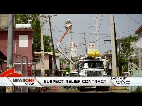 Puerto Rico's $300M Power Grid Contract With Small Company Comes Under Scrutiny