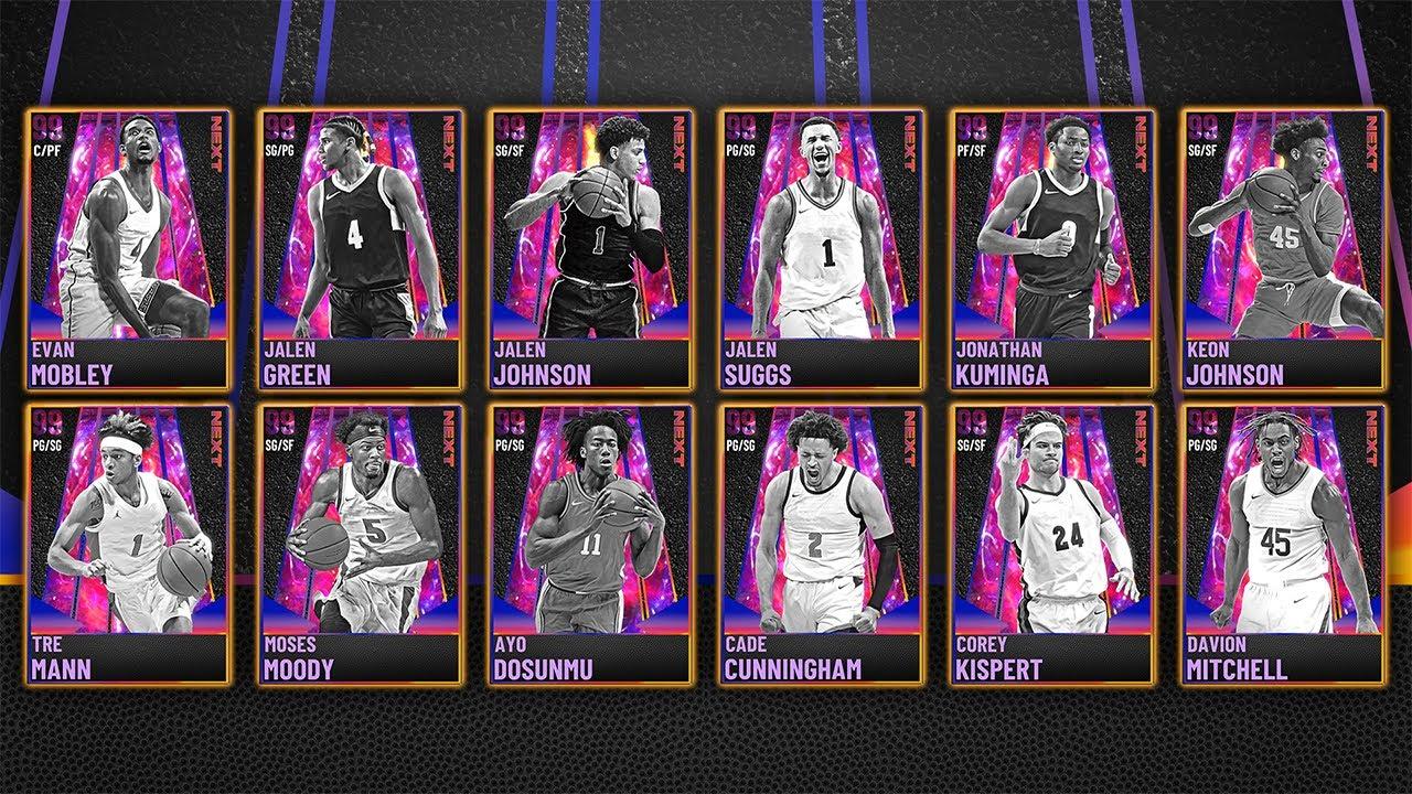 NBA 2K21 MyTEAM: NEXT Packs