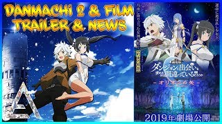 Trailer officiel danmachi arrow of the orion