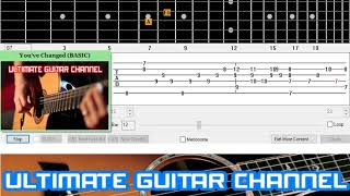 [Guitar Solo Tab] You've Changed (Eva Cassidy)