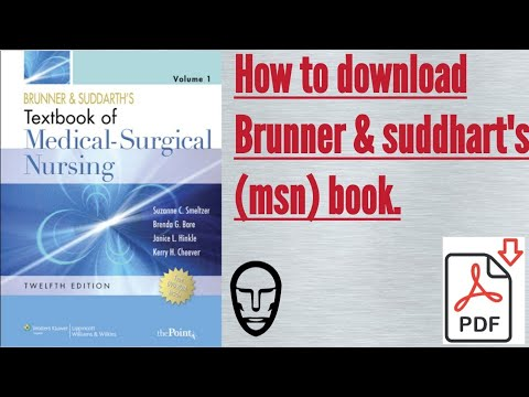 How To Download Brunner & SUDDARTH'S Medical Surgical Nursing Book
