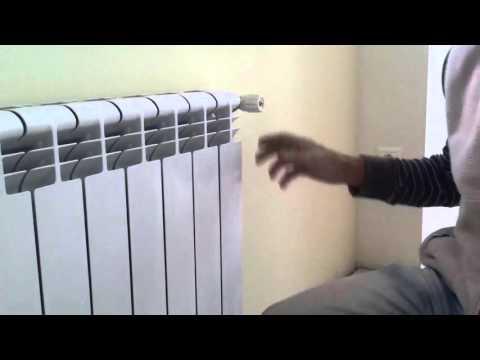 Как спустить воздух с радиатора