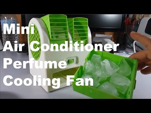 Why  the Mini Tubine Perfume Cooling Fan is a Mini Portable Air Conditioner Cooler Fan