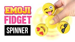 Die EINFACHSTE FIDGET SPINNER DIY Erklärung auf Youtube! Emoji Spinner ohne Kugellager